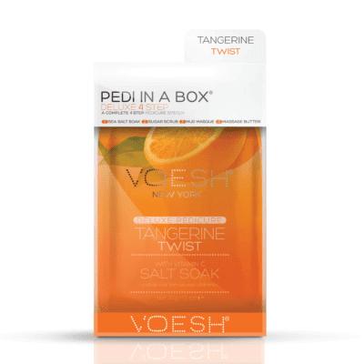 Voesh PEDI IN A BOX - Tangerine Twist