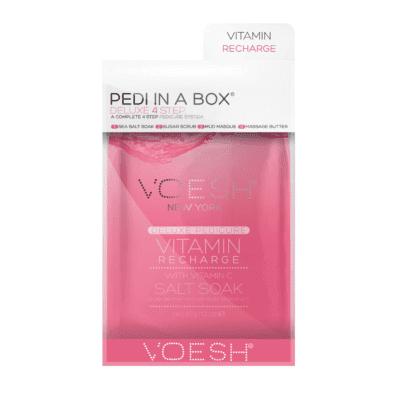 Voesh PEDI IN A BOX - Vitamin Recharge