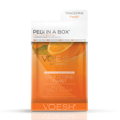 Voesh PEDI IN A BOX - Tangerine Twist