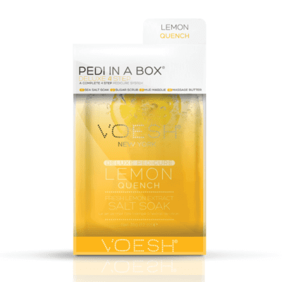 PEDI IN A BOX - Lemon Quench