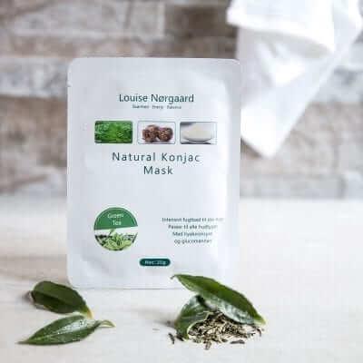 Konjac Mask – Green Tea