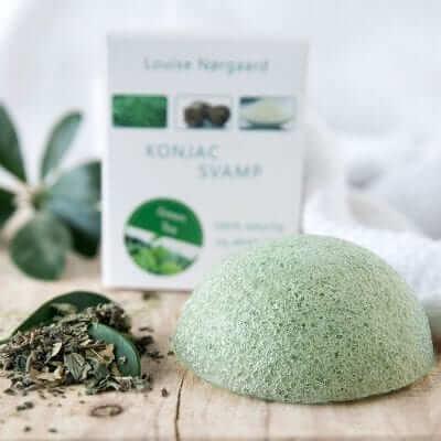 Konjac Svamp Green Tea – Alle hudtyper samt antiage
