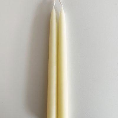 2. stk stearinlys - Patelgul