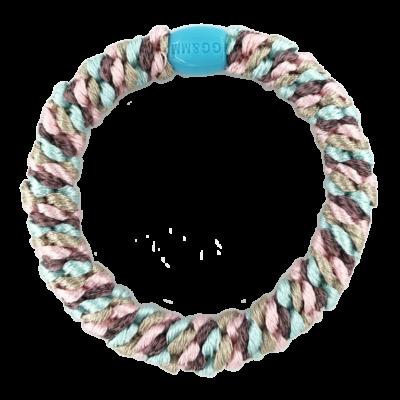 BY STÆR hårelastik - Blå, lyserød, og lilla
