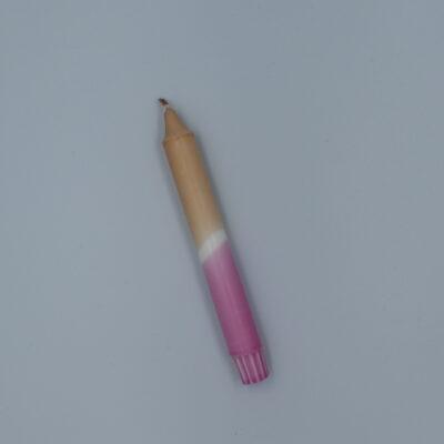 1 stk. Lys - NUDE OG PINK