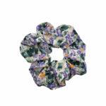 Scrunchie-Blomster-Lillaorange-768×768