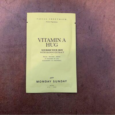 Ansigtsmaske - vitamin a hug