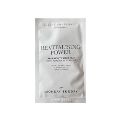 Ansigtsmaske - Revitalising power