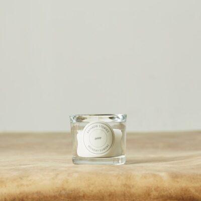 Duftlys i lille glas - Storm Watch