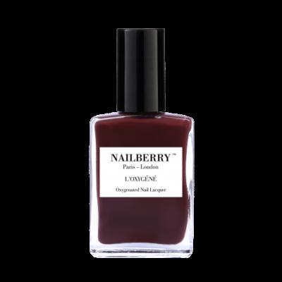 NAILBERRY NEGLELAK - DIAL M FOR MAROON