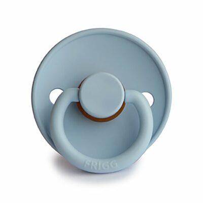 FRIGG - CLASSIC SUT I NATURGUMMI - BABY BLUE - STR. 1