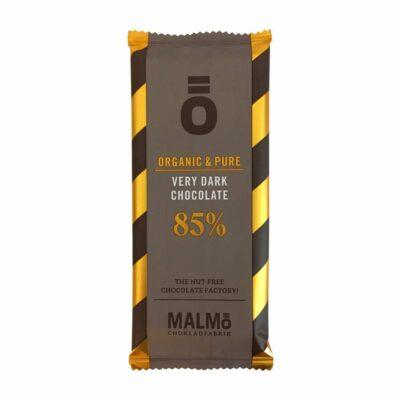MALMÖ CHOKOLADFABRIK - Ö MEGET MØRK CHOKOLADE 85% 55 gr. ØKO