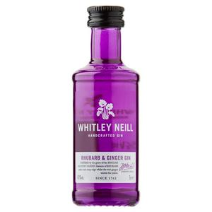 RHUBARB & GINGER GIN 5 CL - WHITLEY NEILL